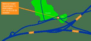 Wegbeschreibung, Plan