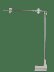 Bannerhalter mit Magnet ausziehbar