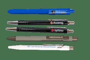 Kugelschreiber mit Werbeanbringung