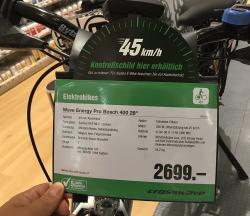 Fahrrad Werbung