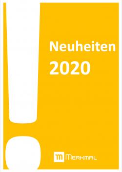 Katalog Neuheiten 2020